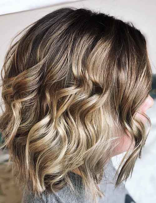 Blonde Balayage - Warm Blonde Balayage