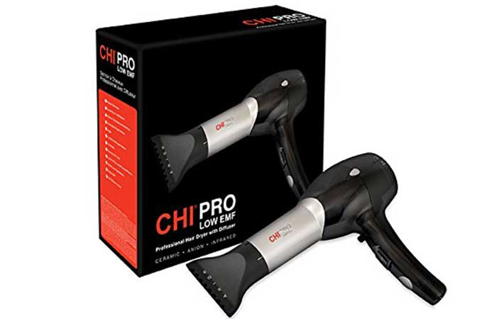 Hair Dryer - Chi Pro Low EMF Professional Hair Dryer
