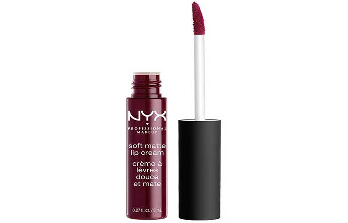 NYX Soft Matte Lip Cream Copenhagen Review