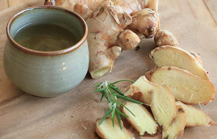 how to get periods faster - Ginger Juice