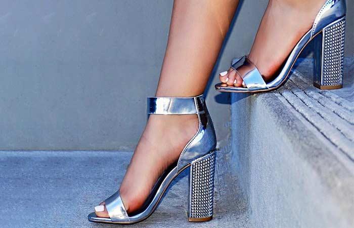 12. Chunky Heels