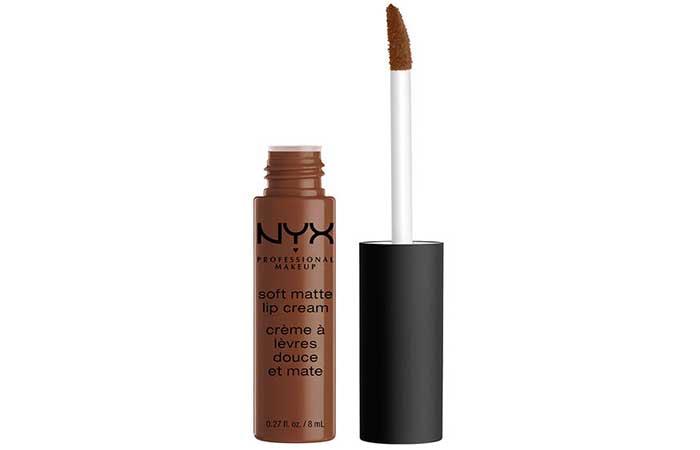 12. NYX Soft Matte Lip Cream Buenos Dubai Review