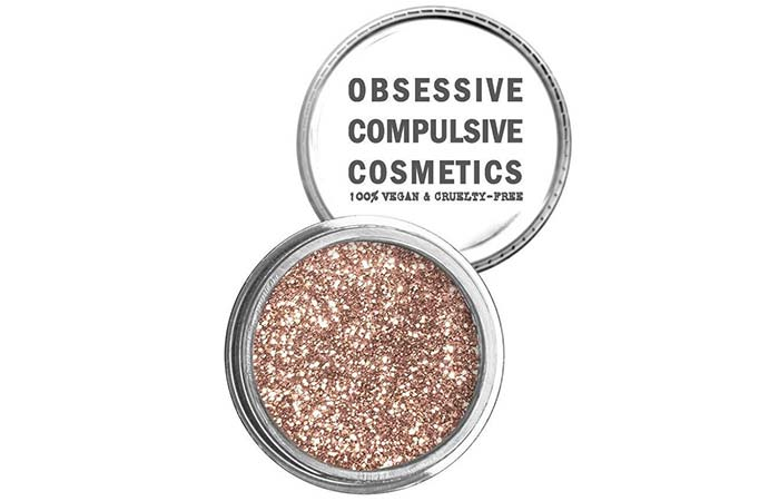 Top Glitter Eyeshadows - 12. Obsessive Compulsive Cosmetics Loose Glitter