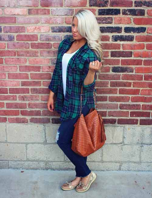 How To Wear A Flannel - Open Flannel Shirt Style