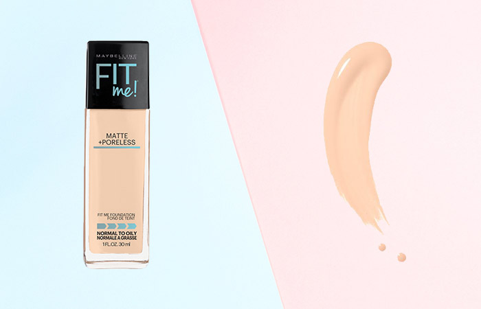 Maybelline Fit Me Matte and Poreless Foundation Shades - 120 Classic Ivory
