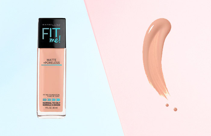 Maybelline Fit Me Matte and Poreless Foundation Shades - 122 Creamy Beige