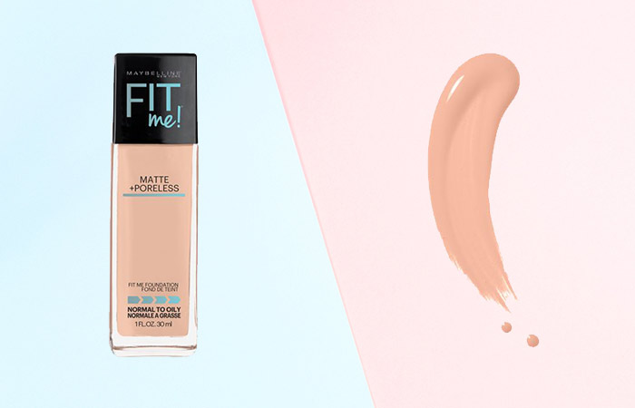 Maybelline Fit Me Matte and Poreless Foundation Shades - 125 Nude Beige