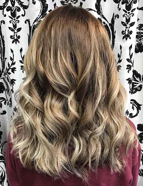 Blonde Balayage - Ash Blonde Balayage