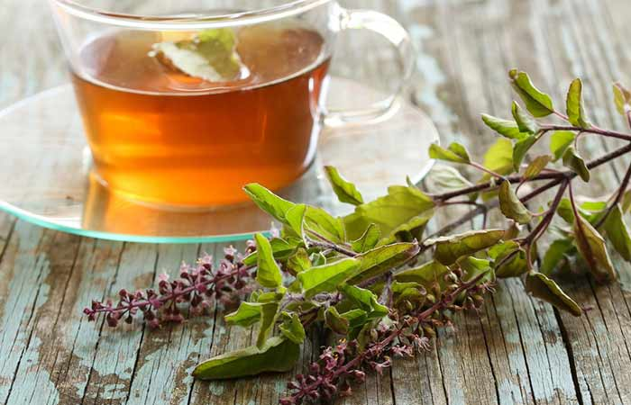 home remedies for dengue fever - Tulsi Leaves And Black Pepper