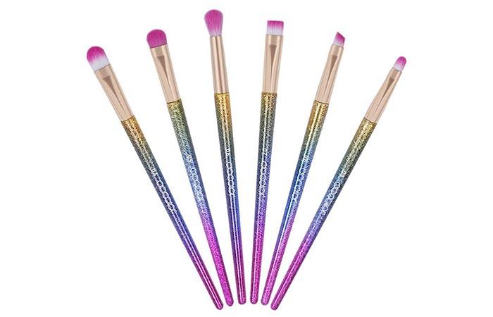 Best Eyeshadow Brushes - 14. Docolor Fantasy Eyeshadow Brushes