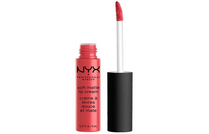 14. NYX Soft Matte Lip Cream Ibiza Review