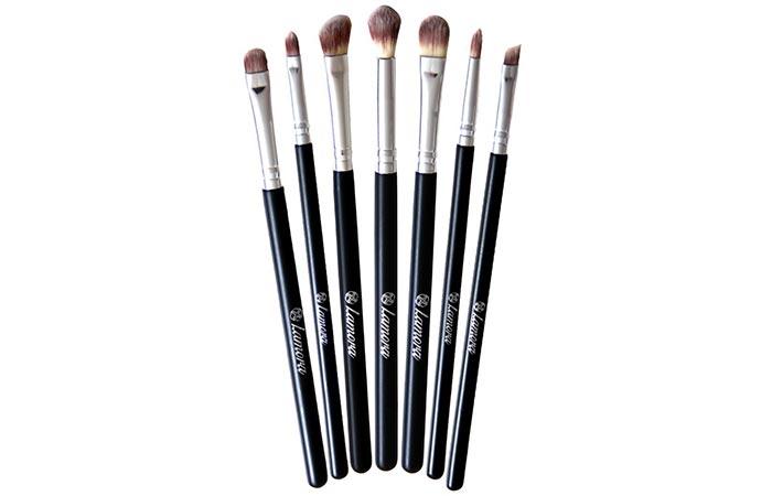 Best Eyeshadow Brushes - 15. Lamora Eyeshadow Brush Set