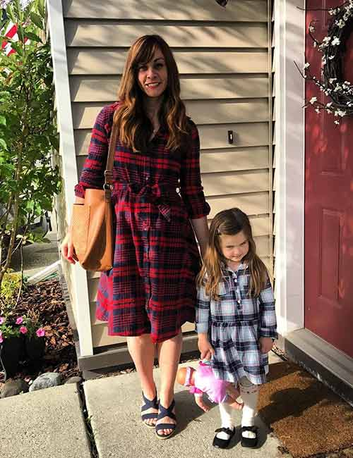 How To Wear A Flannel - One Piece Flannel Dress