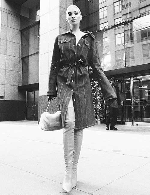 Style Knee High Boots - With A Trench Or Oversized Winter Coat