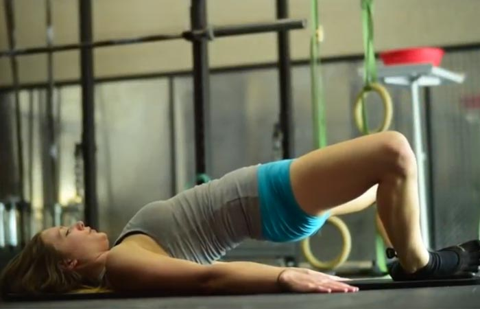 Inner Thigh Exercises - Frog Bridge