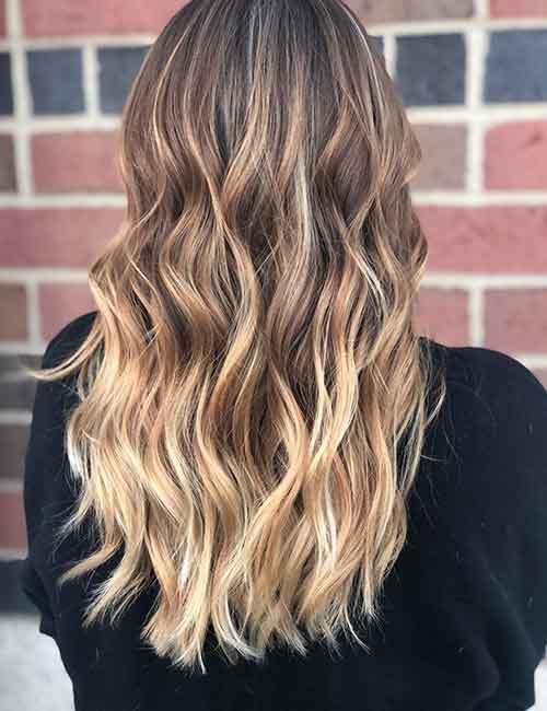 20 Beautiful Blonde Balayage Hair Looks
