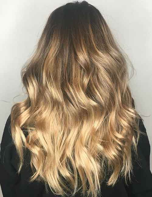 Blonde Balayage - Bright Blonde Balayage