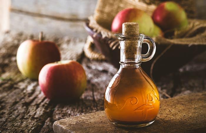 Home Remedies For Kidney Stone Pain - Apple Cider Vinegar