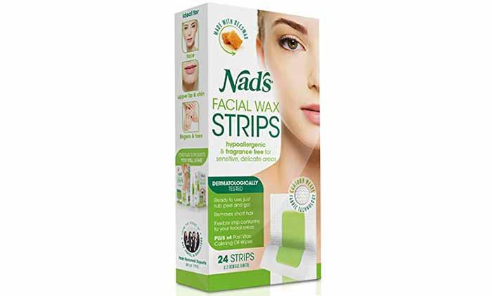 Wax Strips - Nad's Facial Wax Strips