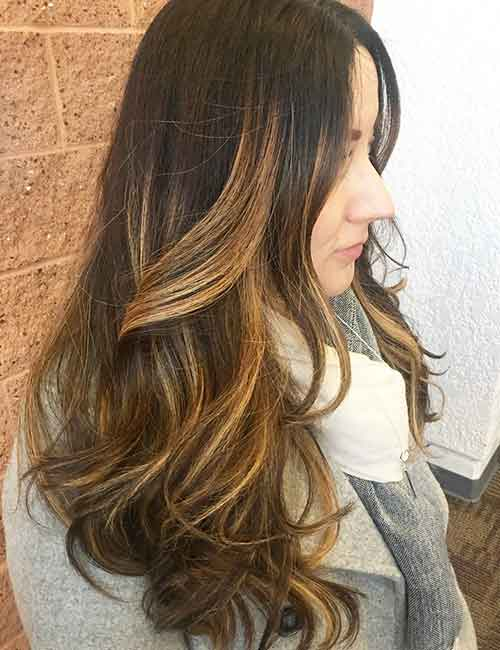 Blonde Balayage - Ribbon Blonde Balayage