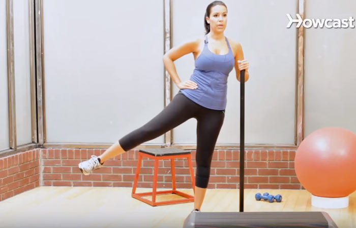 Inner Thigh Exercises - Side Leg Lift