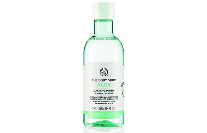 2. The Body Shop Aloe Calming Toner