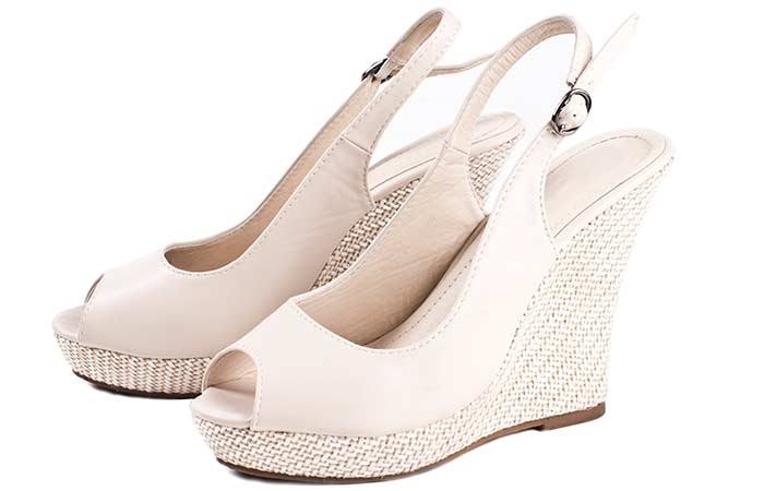 2. Wedge Heels
