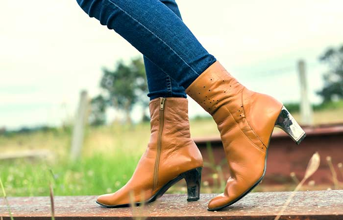 Types Of Heels - Ankle Booties