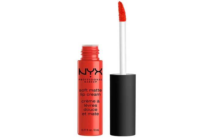 NYX Soft Matte Lip Cream - 21. Morocco Shade