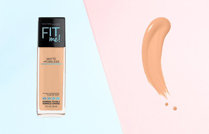 Maybelline Fit Me Matte and Poreless Foundation Shades - 220 Natural Beige