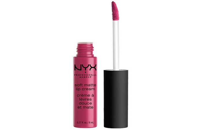 NYX Soft Matte Lip Cream - 24. Prague Shade