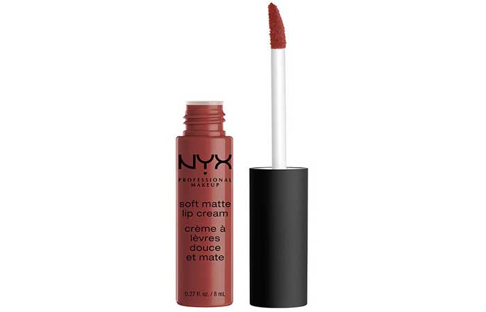 NYX Soft Matte Lip Cream - 25. Rome Shade