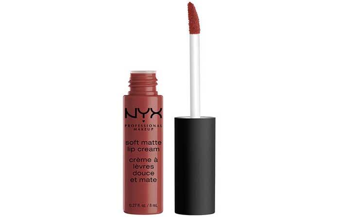NYX Soft Matte Lip Cream - 25. Rome Shade