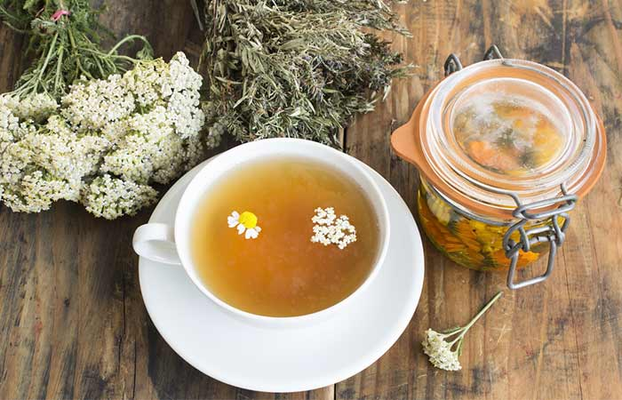 Home Remedies For Period Cramps - Chamomile Tea
