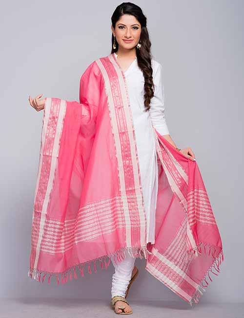 3. Chanderi Silk Dupatta