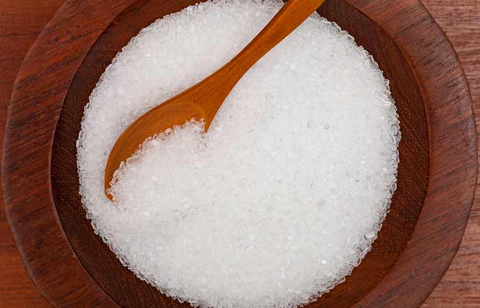how to get rid of an ingrown toenail at home - Epsom Salt
