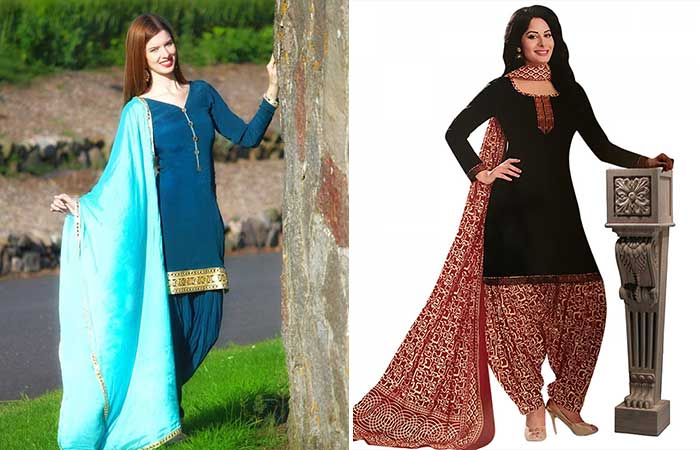 Traditional Dresses - Patiala Suits