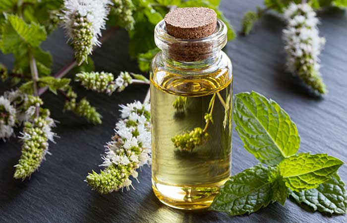 3. Peppermint Oil