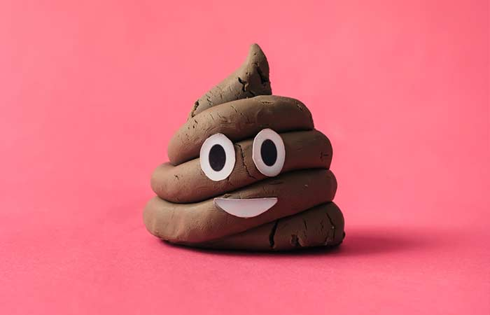 3. Poop turns into a hot topic of conversation.