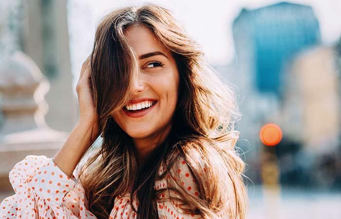 3. Smiling