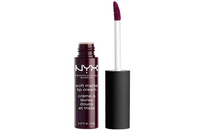 NYX Soft Matte Lip Cream Shades - 32. Transylvania