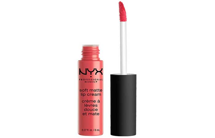 4. NYX Soft Matte Lip Cream Antwerp Review
