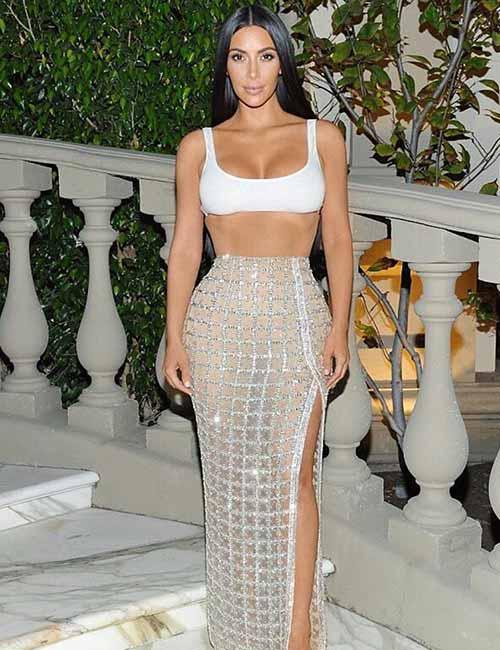 Kim Kardashian Looks - Balmain Outfit
