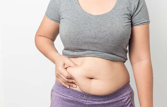 4. Belly Caused By Hormones