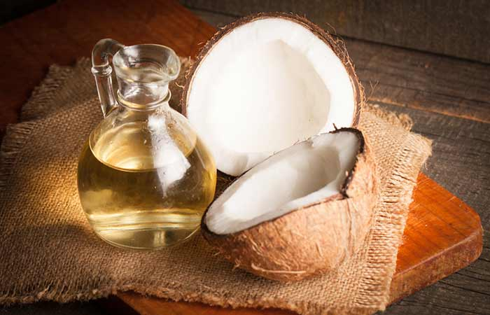 how to get rid of an ingrown toenail at home - Coconut Oil