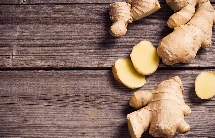 Home Remedies For Period Cramps - Ginger