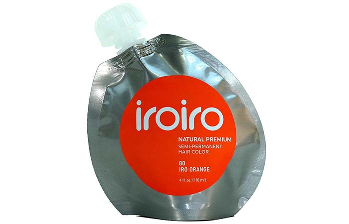 Semi Permanent Hair Color - Iroiro Premium Natural Semi-Permanent Hair Color