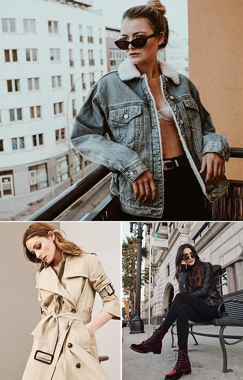 Fashion Tips - Own Classics – Trench, Leather, Denim Jackets