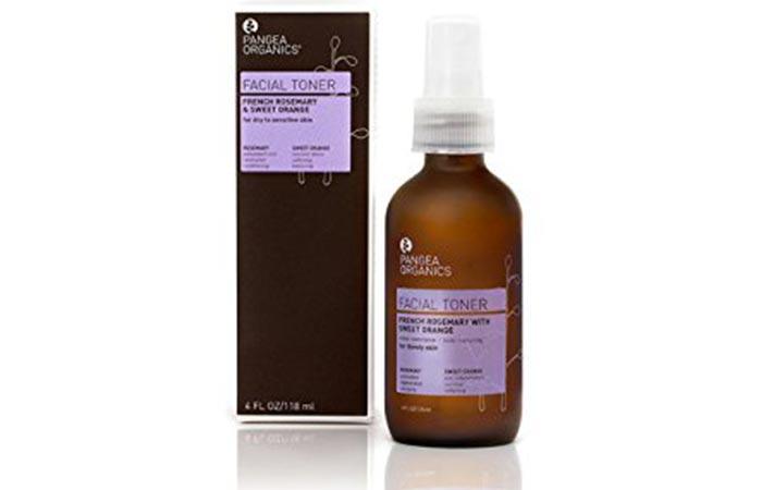 4. Pangea Organics French Rosemary Facial Toner