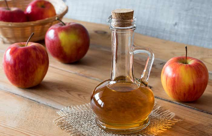 how to get rid of an ingrown toenail at home - Apple Cider Vinegar